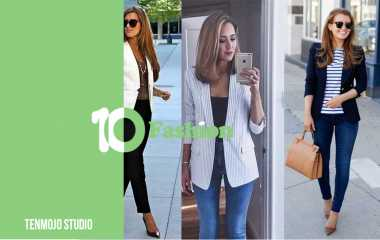 Blazer   The most beautiful styles and how to wear them in more than one way
