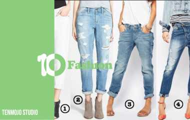 Boyfriend jeans | How to format Boyfriend's trousers in different ways