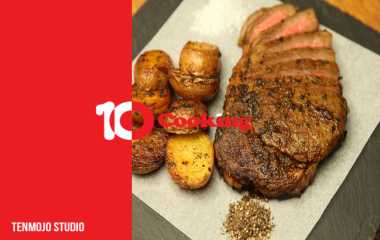 french cuisine | How to make the strongest Rib Eye Steak with fondant and broccoli from French cuisine