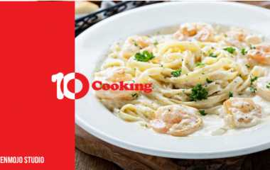 Italian Cuisine | How to make the most delicious pasta with shrimp on the Italian way